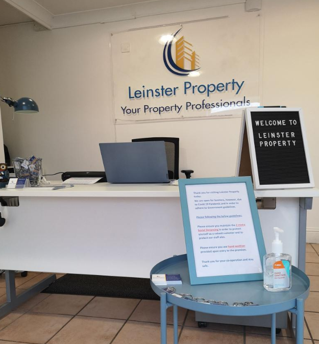 office - social distancing process Leinster Property